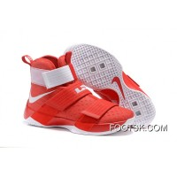 Nike LeBron Soldier 10 Ohio State For Sale F4ybxr