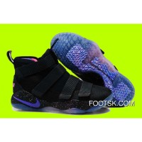 Cheap Nike LeBron Soldier 11 'Galaxy' Black Purple Pink Sale Copuon Code Ip22tHi