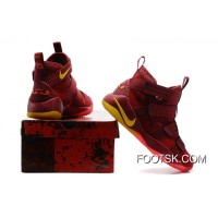 Nike LEBRON Soldier XI Playoffs Red Cheap To Buy