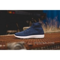 Nike Lunar Magista II Flyknit Blue White 852614-600 Best
