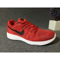 NIKE LUNAR TEMPO Red White Cheap For Sale