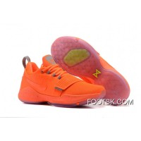 Nike PG 1 Orange Men's Baketball Shoes Super Deals NdcYY2