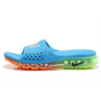 Cheap Nike Air Max 2015 Sandals Blue Orange Green For Sale Hot