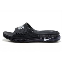 Hot Cheap Nike Air Max 2015 Sandals All Black For Sale