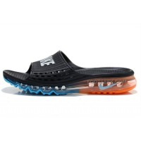 Cheap Nike Air Max 2015 Summer Sandals Black Blue Orange For Sale Discount