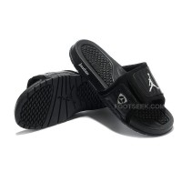 Air Jordan XIV 14 Hydro Sandals Slides Black Graphite White For Sale Discount