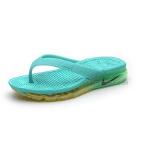 Girls Nike Air Max 2015 Slide Sandals Flip Flops Slipper Turquoise Sale