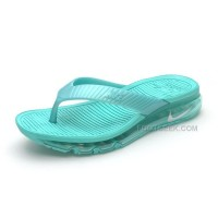 Girls Nike Air Max 2015 Slide Sandals Flip Flops Slipper Jade Green Sale