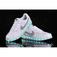 Nike Air Force 1 Lights Up With LEDs White For Sale Online