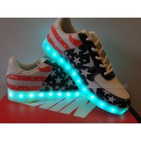 Nike Air Force 1 Low Light Up Independence Day American Flag Online