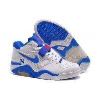 Nike Air Ce 180 Charles Barkley PE White Blue Red For Sale