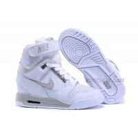 Nike Wmns Wedges Air Revolution Sky Hi Shoes White Grey Cheap
