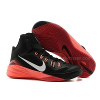 Nike Hyperdunk 2014 GS Black Bright Mango White Cheap