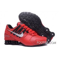 NIKE Shox Avenue 803 PU Red Men Shoes New Style