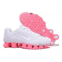 Nike Shox TLX Women Shoes 2018 New White Pink New Style