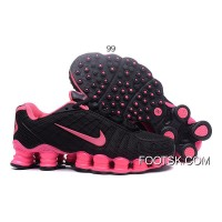 Nike Shox TLX Women Shoes 2018 New Black For Sale
