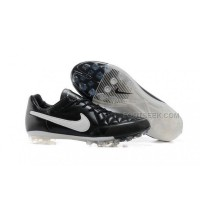 Nike Tiempo Legend Elite Ag Black White
