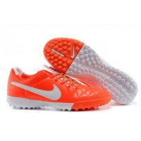 Nike Tiempo Legacy Tf Crimson White Orange