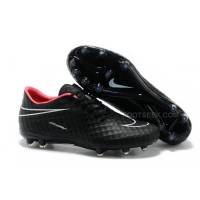 Hypervenom Phantom Ag Boots Super Black Red All