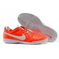 Nike Tiempo Genio Indoor Crimson White Orange