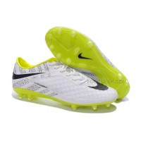Hypervenom Phantom Fg White Black Volt