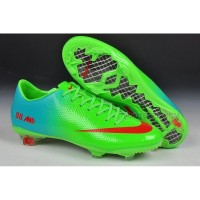 Mercurial Veloce Tf Boots 2014 World Cup Green Red Purple