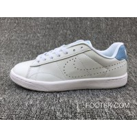 Nike Tennis Classic Ultra Leather 36-39 White Blue Women Discount