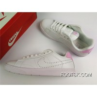 Nike Tennis Classic Ultra Leather White Pink Free Shipping