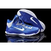Nike Zoom Hyperfuse X James 10 Blue Silver NZH0612 Super Deals