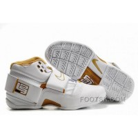 NIKE ZOOM Soldier VI James Soldier White Gold NZH0604 Authentic
