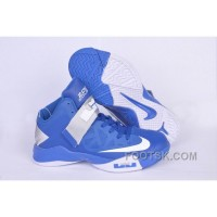 NIKE ZOOM Soldier VI James Soldier Blue White NZH0593 Cheap To Buy