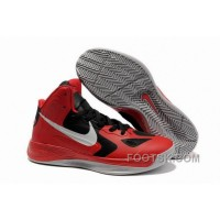 Nike Zoom Hyperfuse 2012 Red Black Gray NZH0649 Free Shipping