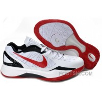 Online Nike Zoom Hyperfuse 2011 Griffin Low White Red Black NZH0672