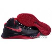 Nike Zoom Hyperfuse 2012 Black Red NZH0647 Free Shipping