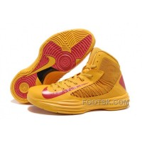 Nike Lunar Hyperdunk X 2012 James Orange Red NZH0623 Authentic