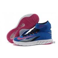 Nike Zoom Hyperrev KYRIE IRVING Photo Blue/Vivid Pink/Midnight Navy Free Shipping