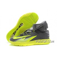 New Style Nike Zoom Hyperrev KYRIE IRVING Dark Grey/Wolf Grey-Black-Volt