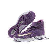"New Style Nike Zoom Hyperrev KYRIE IRVING ""BHM"" Purple Venom/University Gold/Black"