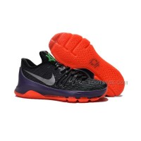 "Discount New Sale Nike KD 8 ""Vinary"" Black/Green Shock-Hyper Orange"