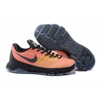 "Discount Cheap Womens KD 8 VIII ""Hunts Hill Sunrise"" Total Orange/Black-Volt"