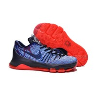 "Discount Nike KD 8 ""USA"" 4th Of July Soar/Midnight Navy-Bright Crimson-White New Sale"