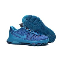 Discount Nike KD 8 VIII Cheap Sneakers Light Blue/Purple