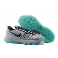 Discount KD 8 Shoes Night Silver/Deep Pewter-Tumbled Grey-Green Glow