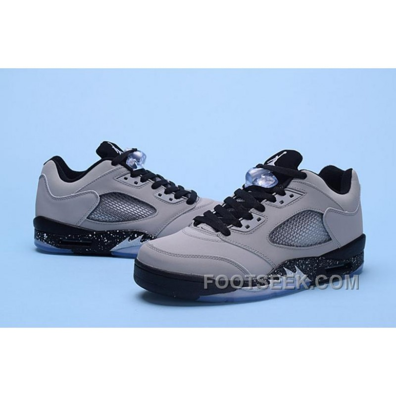... Nike Air Jordan 5 Low Wolf Grey Men Discount HNPD Dw5e ...