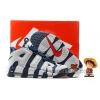 Nike Air More Uptempo OG Olympic Scottie Pippen Midnight Navy White Spirit Red 414962-401 ZHzW5