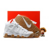 Nike Air More Uptempo White Gum OG Men Basketball Shoes AtiTd