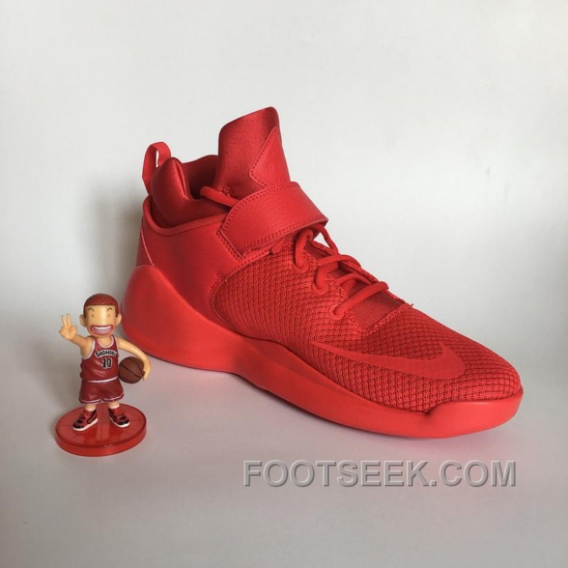 ... NIKE KWAZI HIGH ALL RED MENS AND WOMENS 844839-660 For Fall ...