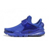 Nike X Fragment Design Sock Dart SP Blue 2017 New