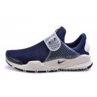 Nike X Fragment Design Sock Dart SP Deep Blue White 2017 New