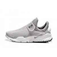Nike X Fragment Design Sock Dart SP Grey White Free Shipping